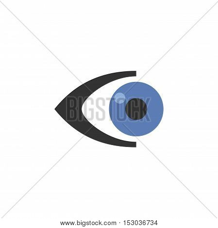 Eye logo design, modern eyecare logo design