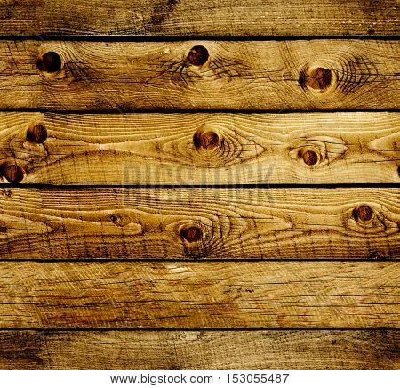 Seamless background with old wooden planks. Endless texture can be used for wallpaper, pattern fills, web page background, surface textures