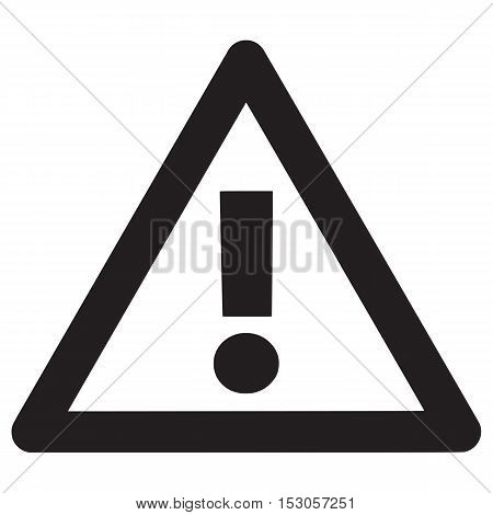 Hazard warning attention sign pressure secure mark triangle beware