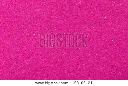 Magenta Abstract Background With Glittering Stars
