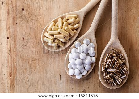 Various Dietary Supplements