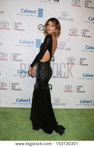 LOS ANGELES - OCT 22:  Dawn Olivieri at the 26th Annual Environmental Media Awards at Warner Brothers Studio on October 22, 2016 in Burbank, CA