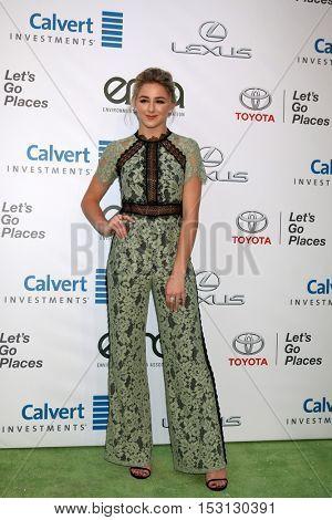 LOS ANGELES - OCT 22:  Chloe Lukasiak at the 26th Annual Environmental Media Awards at Warner Brothers Studio on October 22, 2016 in Burbank, CA