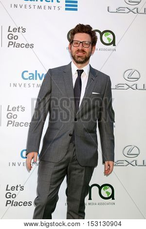 LOS ANGELES - OCT 22:  Asher Levin at the 26th Annual Environmental Media Awards at Warner Brothers Studio on October 22, 2016 in Burbank, CA