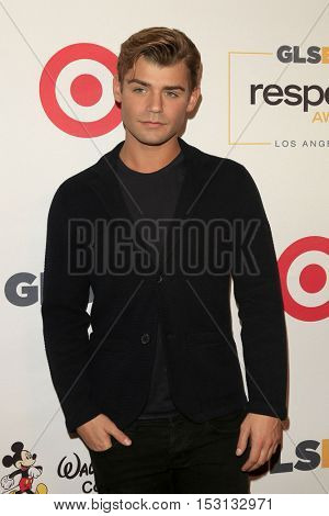 LOS ANGELES - OCT 21:  Garrett Clayton at the 2016 GLSEN Respect Awards at Beverly Wilshire Hotel on October 21, 2016 in Beverly Hills, CA