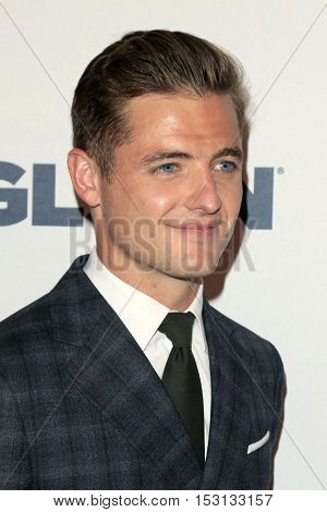LOS ANGELES - OCT 21:  Robbie Rogers at the 2016 GLSEN Respect Awards at Beverly Wilshire Hotel on October 21, 2016 in Beverly Hills, CA