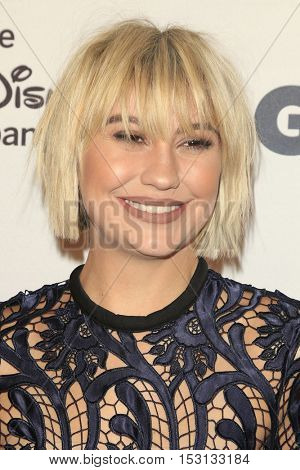 LOS ANGELES - OCT 21:  Chelsea Kane at the 2016 GLSEN Respect Awards at Beverly Wilshire Hotel on October 21, 2016 in Beverly Hills, CA