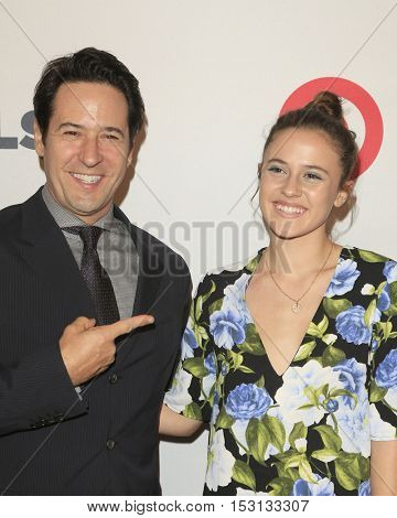 LOS ANGELES - OCT 21:  Rob Morrow, Tu Morrow at the 2016 GLSEN Respect Awards at Beverly Wilshire Hotel on October 21, 2016 in Beverly Hills, CA