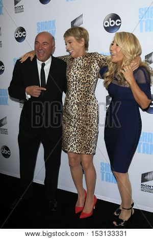 LOS ANGELES - SEP 23:  Kevin O'Leary, Barbara Corcoran, Lori Greiner at the