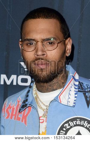 LOS ANGELES - OCT 22:  Chris Brown at the 2016 Maxim Halloween Party at Shrine Auditorium on October 22, 2016 in Los Angeles, CA
