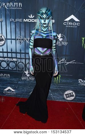 LOS ANGELES - OCT 22:  Jean Watts at the 2016 Maxim Halloween Party at Shrine Auditorium on October 22, 2016 in Los Angeles, CA
