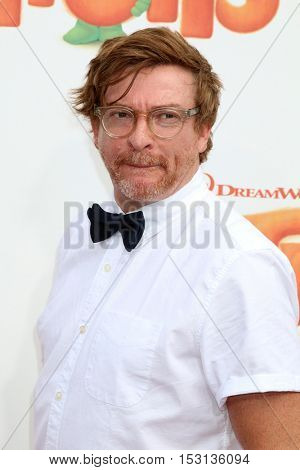LOS ANGELES - OCT 23:  Rhys Darby at the Trolls Premiere at Village Theater on October 23, 2016 in Westwood, CA