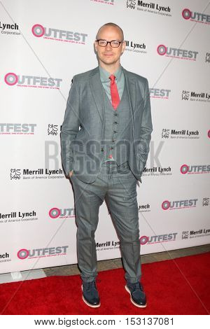 LOS ANGELES - OCT 23:  Peter Paige at the 2016 Outfest Legacy Awards at Vibiana on October 23, 2016 in Los Angeles, CA