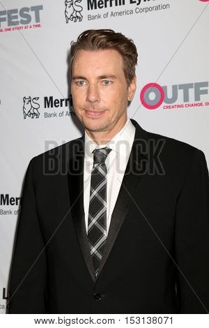 LOS ANGELES - OCT 23:  Dax Shepard at the 2016 Outfest Legacy Awards at Vibiana on October 23, 2016 in Los Angeles, CA