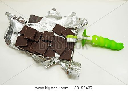 Composition Of Dark Chocolate And Dental Health