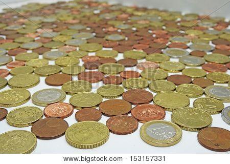 European Euro Coins