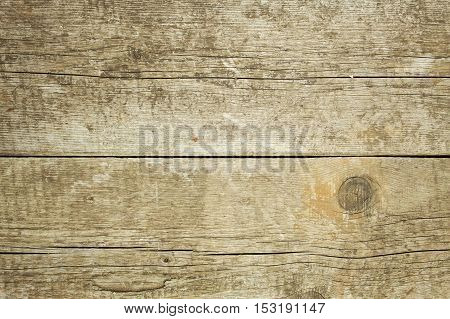 Rustic wooden background. Detailed view of the wood structure. Natural glued spruce board. Wooden background for text.