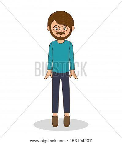 father family memeber avatar vector illustration design