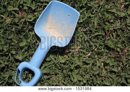 Childs Toy Sand Shovel