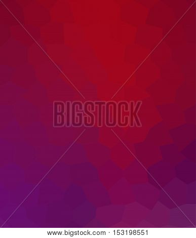 Multicolor purple and red geometric rumpled background. Low poly style gradient illustration. Graphic background.