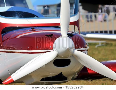 Piston aircraft engine of the small passenger aviation