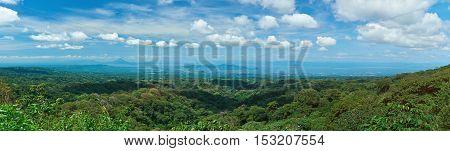 Panorama Of Nicaragua Country