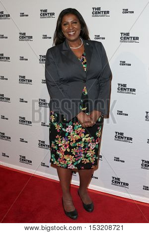 NEW YORK-APR 2:  New York City Public Advocate Letitia James attends attends the 2015 Center Dinner at Cipriani Wall Street on April 2, 2015 in New York City,