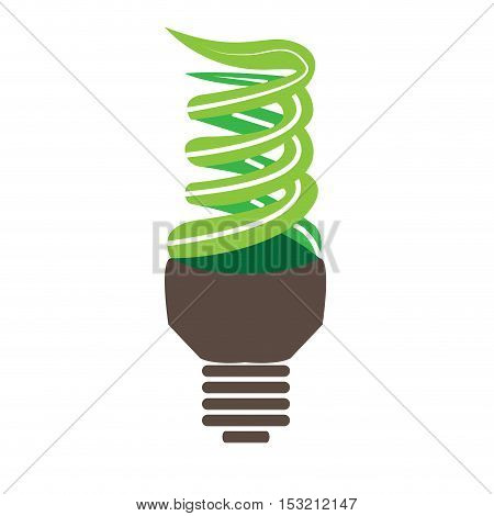 Isolated Conceptual Lightbulb