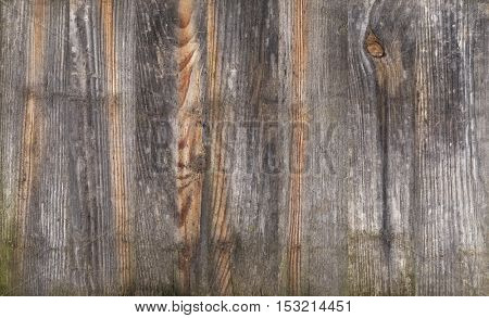Old wood texture, horizontal background