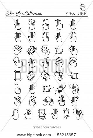Vector icons for web design and user interface in applications made in flat graphic style. Nice detail and easily identifiable. Ideal for clean design