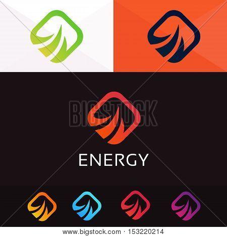 Abstract rhombus logo sign symbol element icon vector design