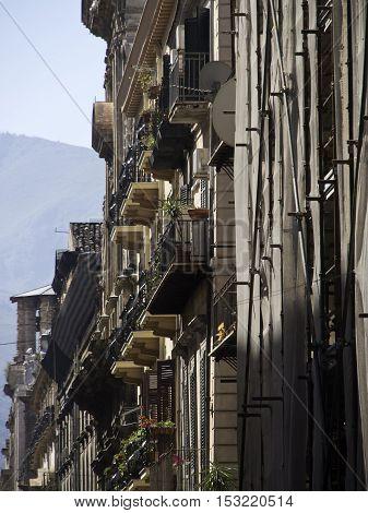 the italian City of Palermo in sicilia