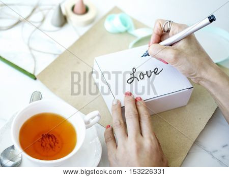 Special Gift Card Decorating Concept