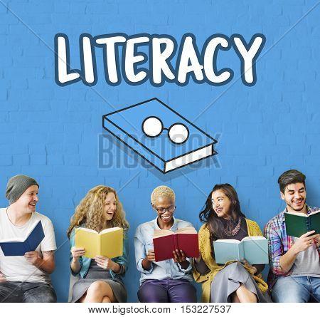 Literacy Education Reading Academics Concept