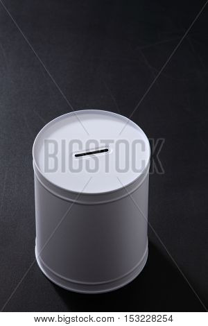 coin box on the blackboard,fund for education