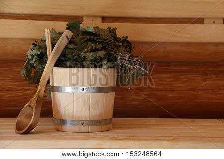 Sauna is healthy / Finnish sauna with hot dry steam