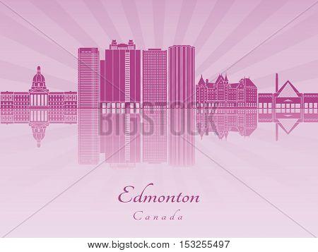 Edmoton V2 Skyline In Purple Radiant Orchid