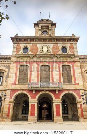 Parliament of Catalonia Barcelona Catalonia in Spain