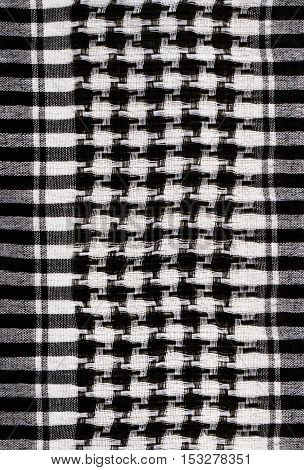 background with houndstooth fabric pattern for your design