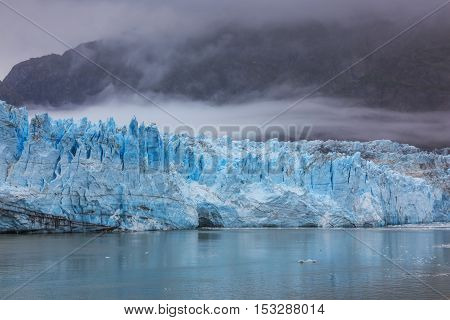 Margerie Glacier in Glacier Bay National Park, Alaska