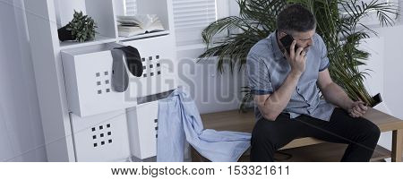 Calling Police After The Burglary