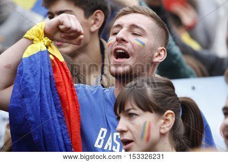 March Union Romania And Moldova