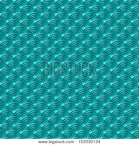 Chinese Blue Seamless Pattern Dragon Fish Scales Simple Seamless Pattern Nature Background With Japa
