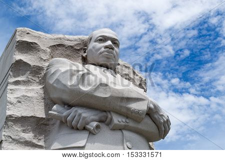Martin Luther King Memorial In Dc