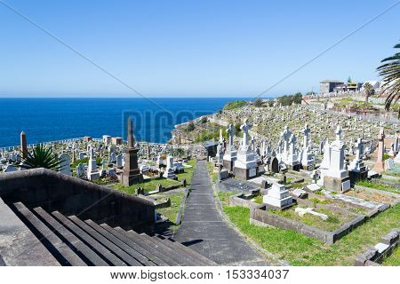 Waverley Cemetery In Sydney