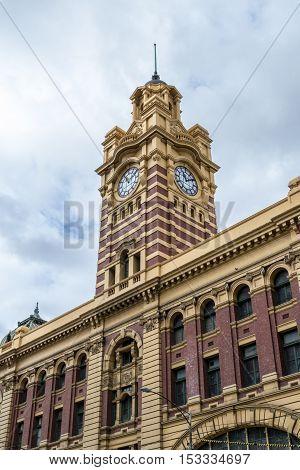 Flinders Street Stations Clock Tower