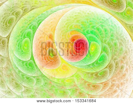 Beautiful multicolored fractal background computer generated image