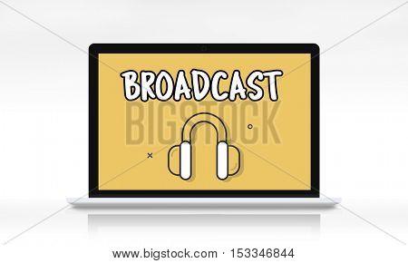 Audio Media Headphone Icon