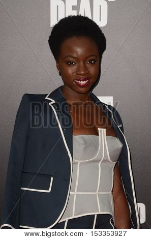 LOS ANGELES - OCT 23:  Danai Gurira at the AMC's Special Edition of