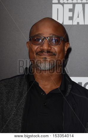 LOS ANGELES - OCT 23:  Seth Gilliam at the AMC's Special Edition of
